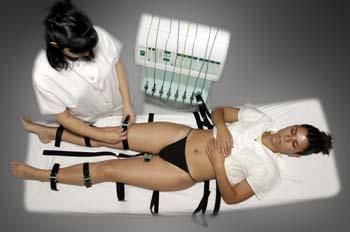 Gimnasia pasiva con cintas de caucho: retirada de cintas de cauc