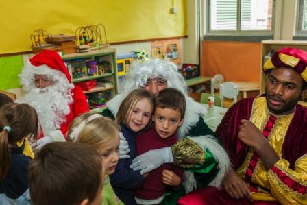 Los RRMM y Papá Noel en INF 4B 9