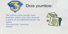 3ºS.ORTOGRAFÍA.SIGNOS DE PUNTUACIÓN.ALBA SOTO, LAURA ALBESA Y LAURA DOMÍNGUEZ