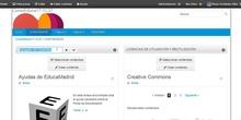 Cambiar el título de un agregador en la web de EducaMadrid