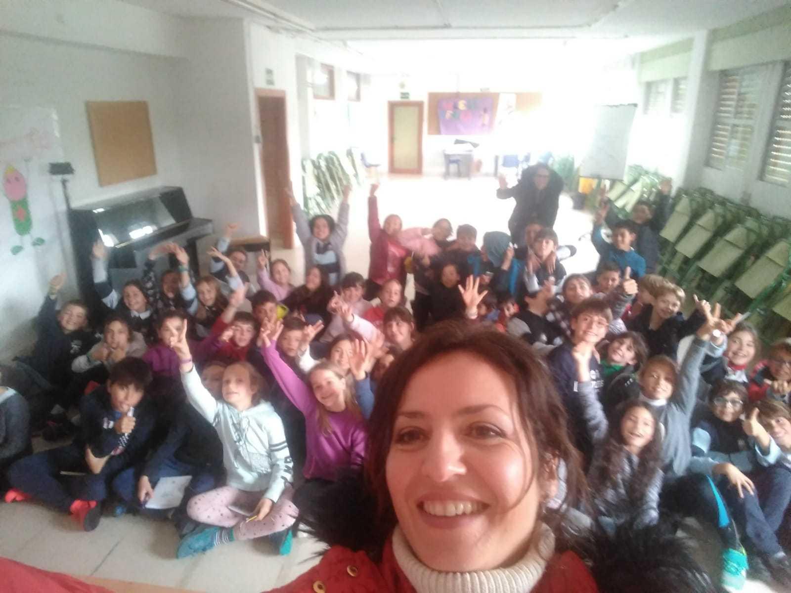 2019_04_24_Día del Libro 4º_Encuentro con Autor_CEIP FDLR_Las Rozas  2