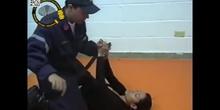 Técnica de arrastre del bombero