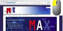 Copiar y pegar URL en una tarea del Aula Virtual