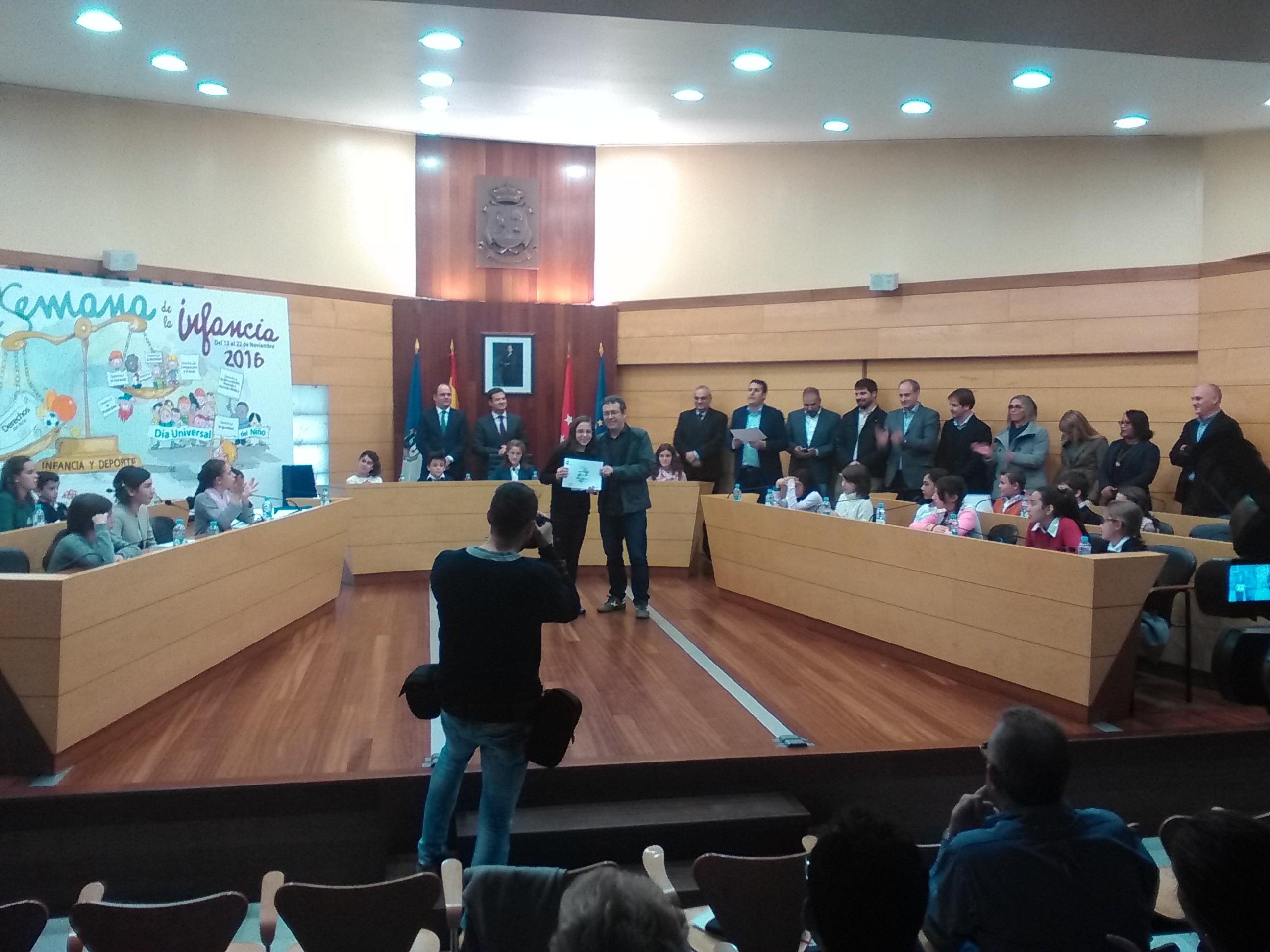 2016_11_21_Pleno Infantil en el Ayuntamiento de Las Rozas_Sexto 5