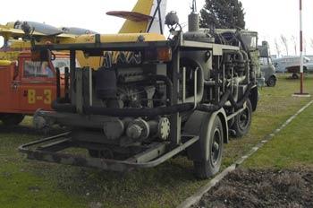 Land Rover de Bomberos, Museo del Aire de Madrid