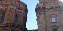 Torre y cúpula de la Catedral de Tudela, Navarra