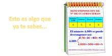 LEER NÚMEROS DE 4,5 Y 6 CIFRAS