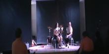 Collage III. Segunda actuación de Noa y Claudia (1º ESO)