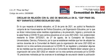 CIRCULAR PREVENCIÓN COVID OCTUBRE 2021