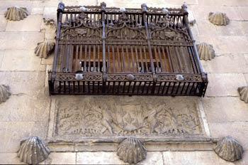 Balcón de la Casa de las Conchas, Salamanca