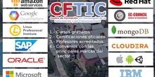 Formación certificada de las principales marcas del sector tecnológico