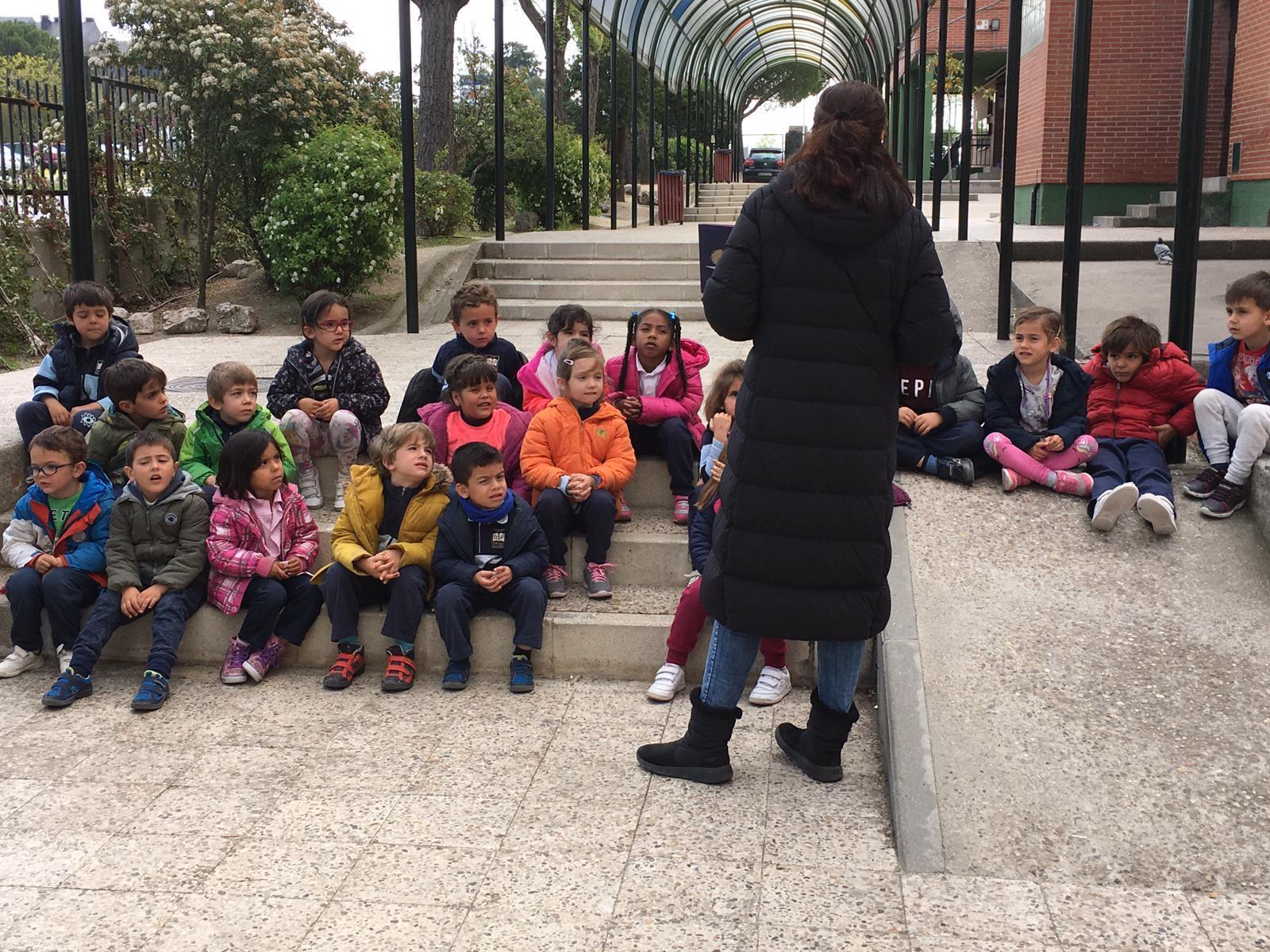 2019_04_03_Infantil 4B en la miniferia_CEIP FDLR_Las Rozas  2