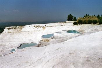 Piscinas, Pamukkale, Turquía
