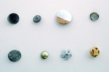 Botón metálico