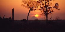 Puesta de sol en Nampula, Nampula, Mozambique