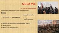 SIGLO XVII EN ESPAÑA