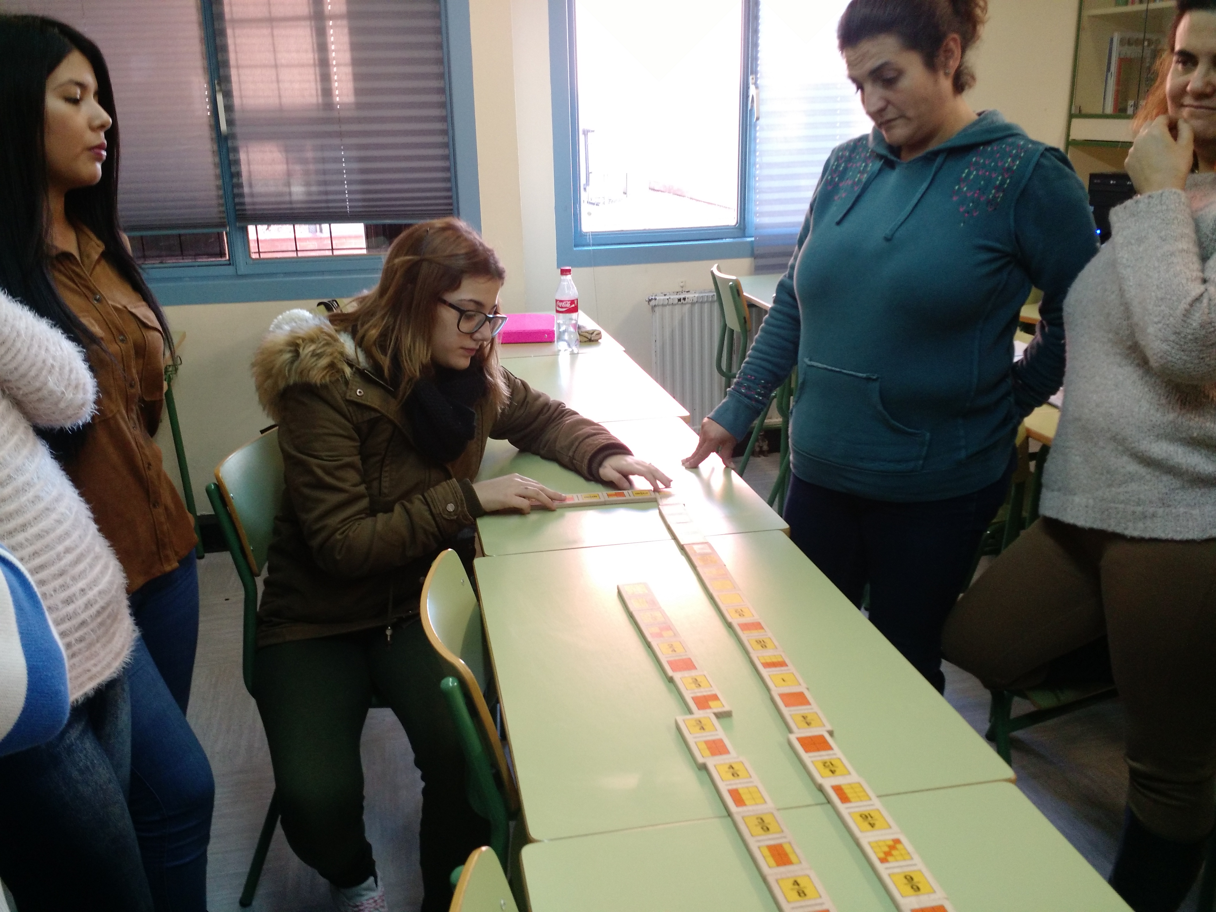 Jugando al dominó (fracciones) 11