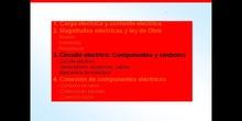 1º ESO / Tema 3 -> Punto 3 - Circuito eléctrico componentes y símbolos