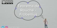 Sistemas 3 - Teorema de Rouché-Fröbenius