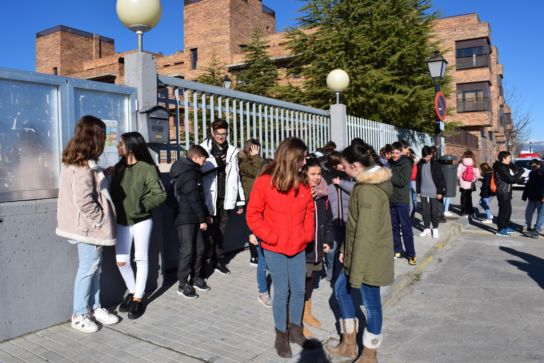 Visita al instituto Alfonso Moreno 2018 1