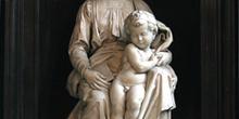 Madonna con el niño de Miguel ángel, Brujas, Bélgica