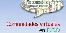 """""""Comunidades virtuales y teleproyectos en Educación para la Ciudadanía y los derechos humanos"""" por Dª.Susana Garay Calvo"""