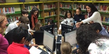 2019_Quinto B visita la biblioteca municipal_CEIP FDLR_Las Rozas 14