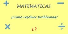 Cómo resolver problemas en matemáticas