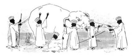 Los seis sabios ciegos y el elefante