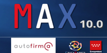 Autofirma y MAX10: Firma digital de documentos
