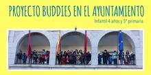 Proyecto Buddies en el Ayuntamiento 4 años y 5º