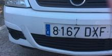 Cazando números en el parking del CP Mirasierra (4)