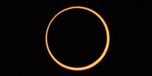 Fase máxima del eclipse anular 01