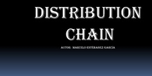 DISTRIBUTION CHAIN PROJECT
