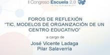 TIC. modelos de organización de un centro educativo