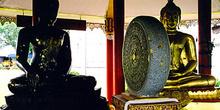 Disco de piedra de oración, Tailandia