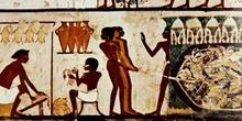 Cazadores en los pantanos, Egipto