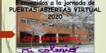 JORNADA DE PUERTAS ABIERTAS 2020 CEIP JUAN DE AUSTRIA LEGANÉS