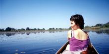 Paseo por el Delta del Okawango, Botswana
