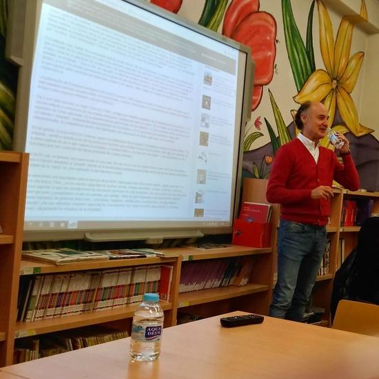 Juan Antonio Luengo en nuestro cole 2