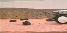 Robot explorador en Marte