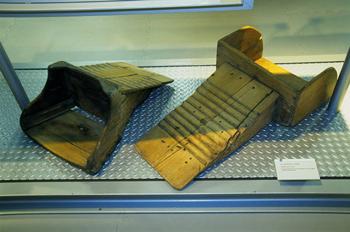 Utensilios domésticos: Tablas para lavar, Museo del Pueblo de As