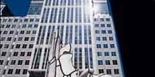 Escultura de Jean Dubuffet, Chicago, Estados Unidos