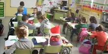 Working in class 1st grade, year 2012-13