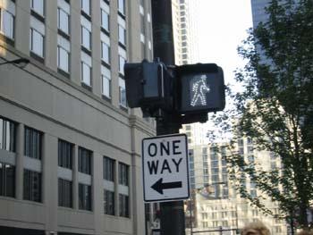 Semáforo en verde, Chicago, Estados Unidos