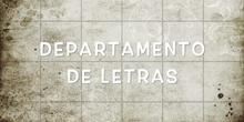 Departamento letras