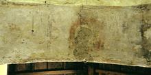 Decoración del intradós en la iglesia de Santo Adriano, Tuñón, P