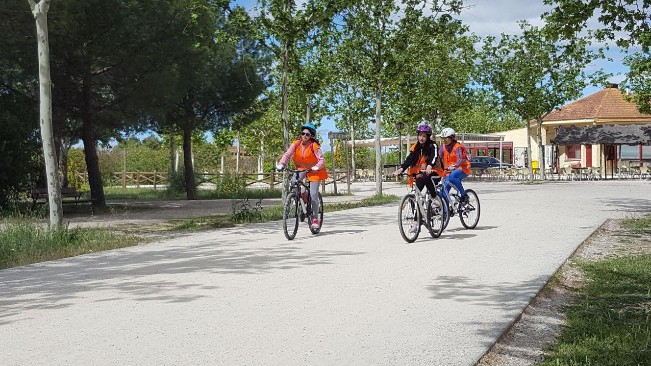 Salida en bicicleta a Polvoranca 17