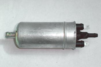 Bomba eléctrica de gasolina. Vista exterior