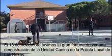 La Unidad Canina de la Policia Municipal de Las Rozas visita el cole_CEIP FDLR_Las Rozas_2017